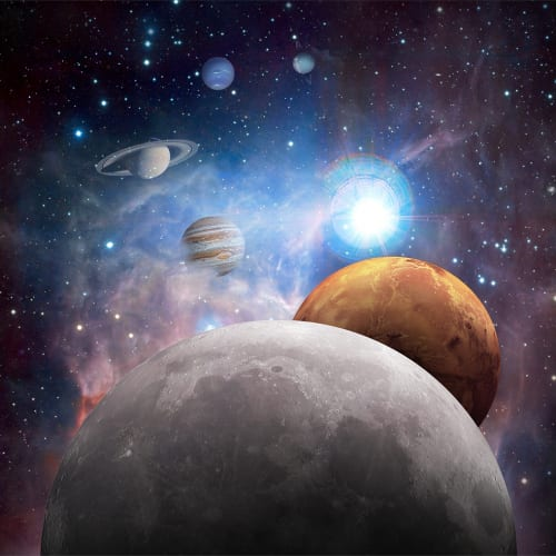 Dalla Luna a Marte