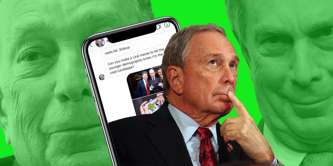 MIchael Bloomberg 2020 meme