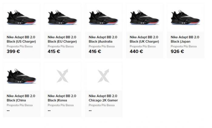 Nike Adapt BB 2.0: le scarpe che si allacciano da sole come