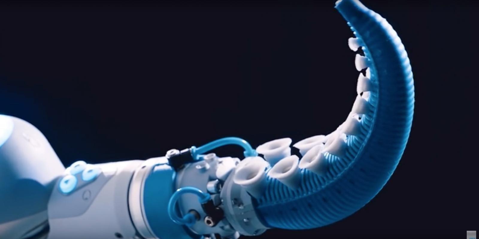 Il robot tentacolo ispirato ai polpi
