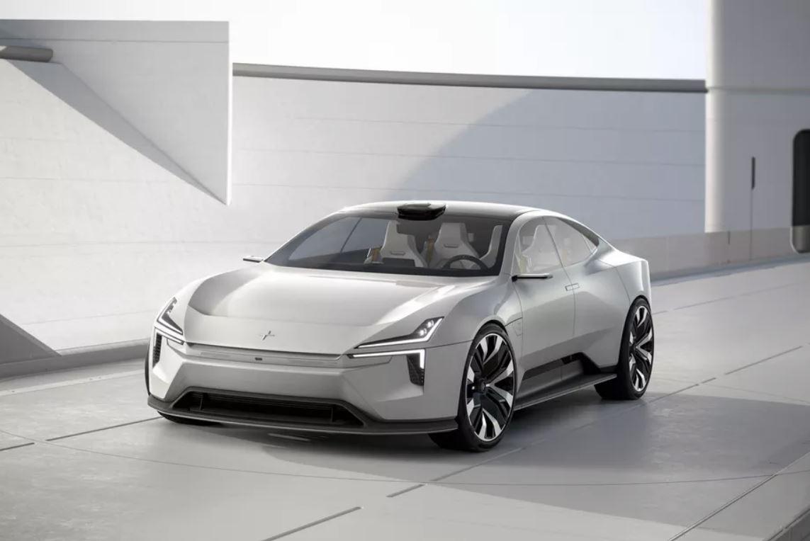 Polestar Precept: berlina elettrica con OS Android Automotive