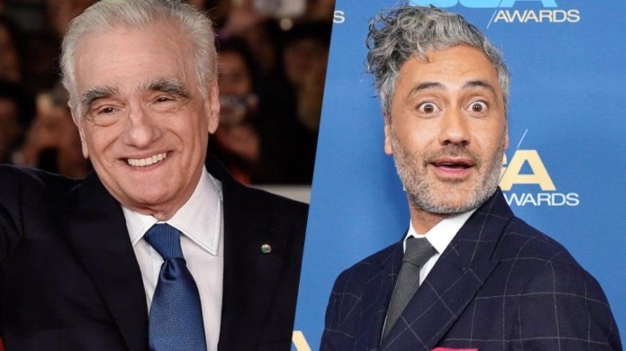 Taika Waititi Martin Scorsese
