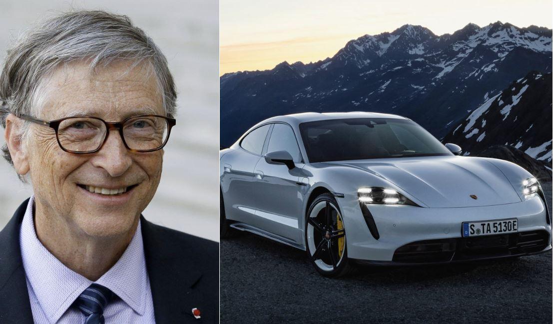 Bill Gates ha acquistato una Porsche Taycan, e ha detto la sua sull'autonomia