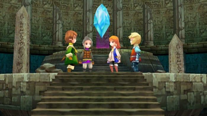 Final Fantasy III remake