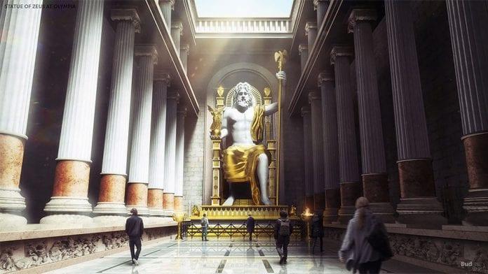 Statua di Zeus a Olimpia