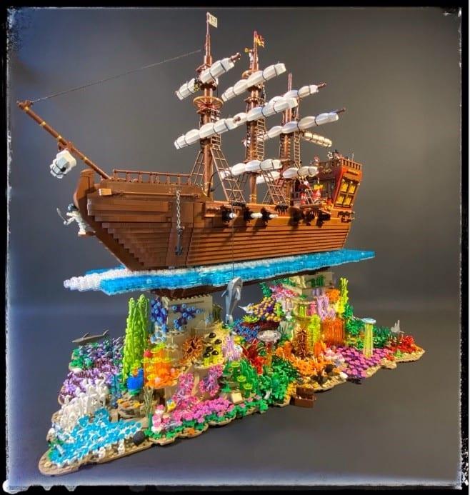 Il veliero dei pirati