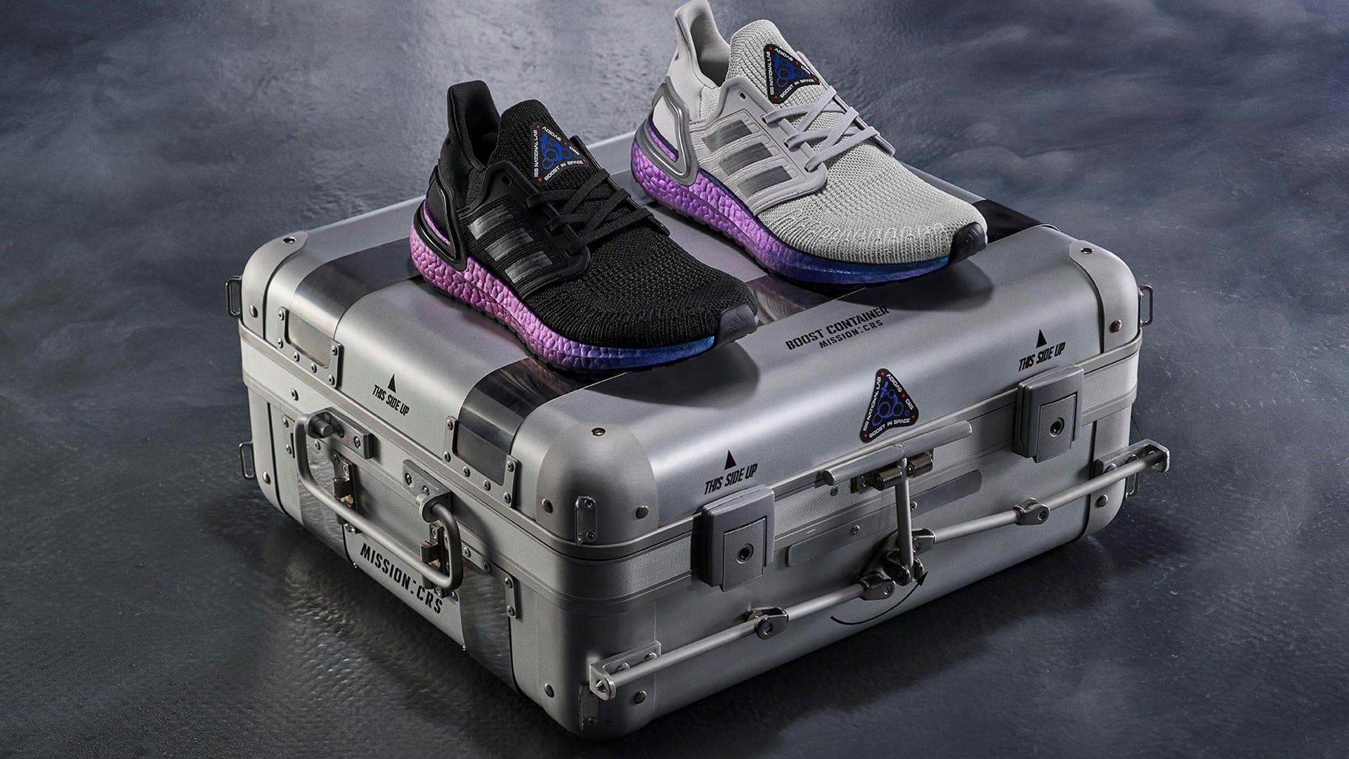 Adidas testa i suoi materiali nello spazio per fare scarpe migliori