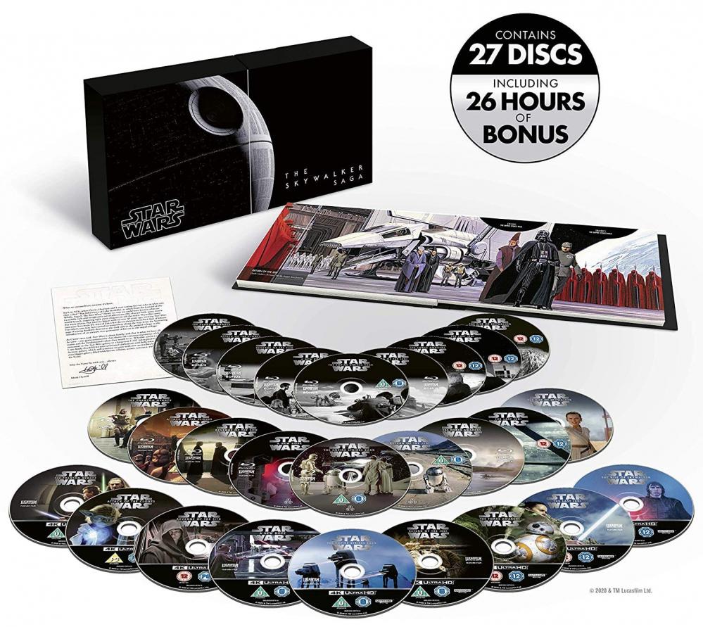 Star Wars: The Skywalker Saga Complete Collection, versione blu-ray 4K