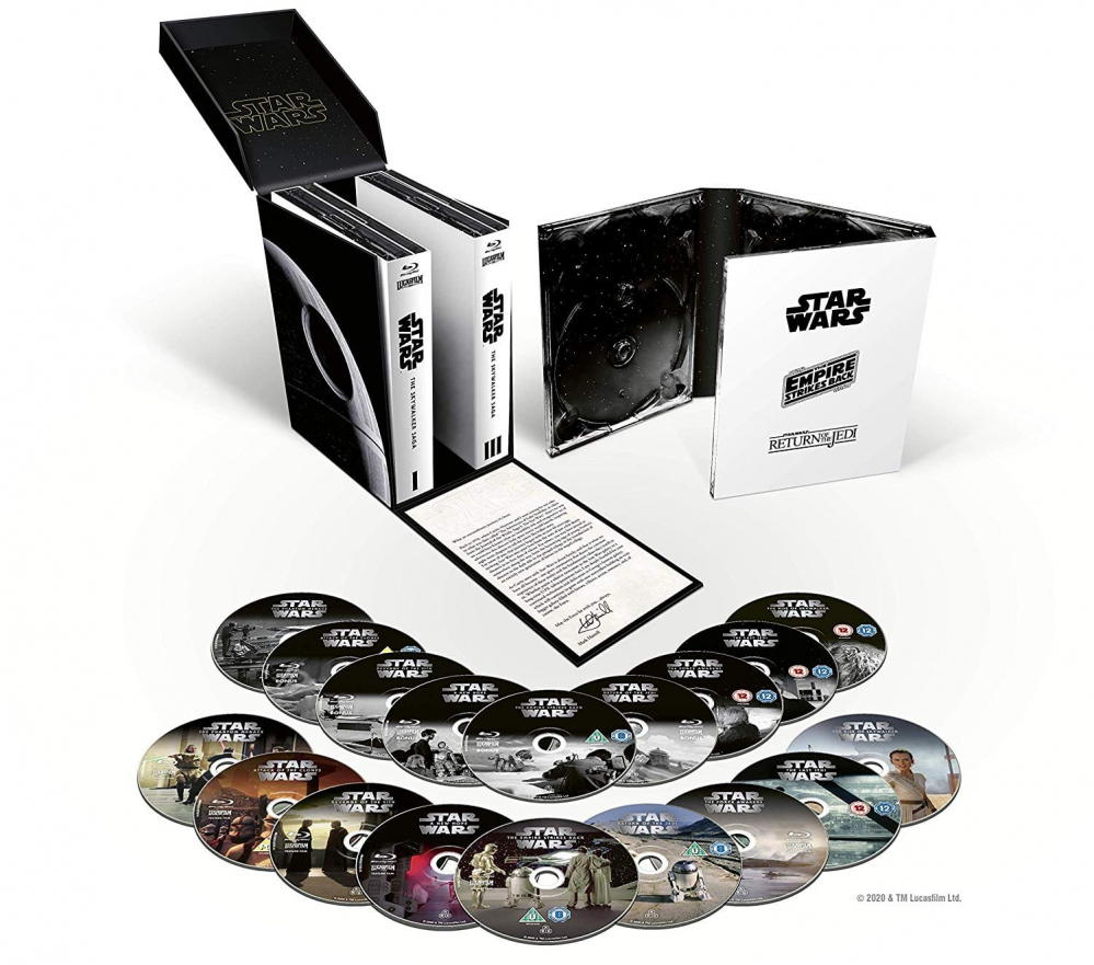 Star Wars: The Skywalker Saga Complete Collection, versione blu-ray