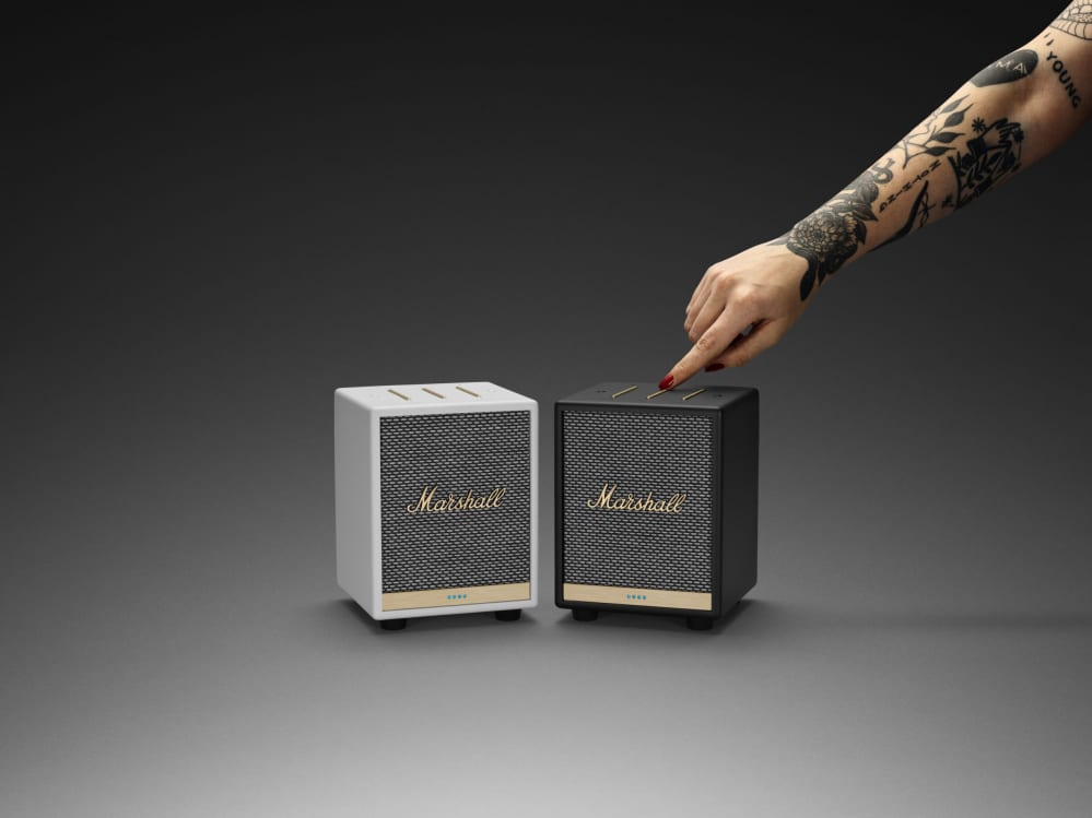 Marshall smart speaker
