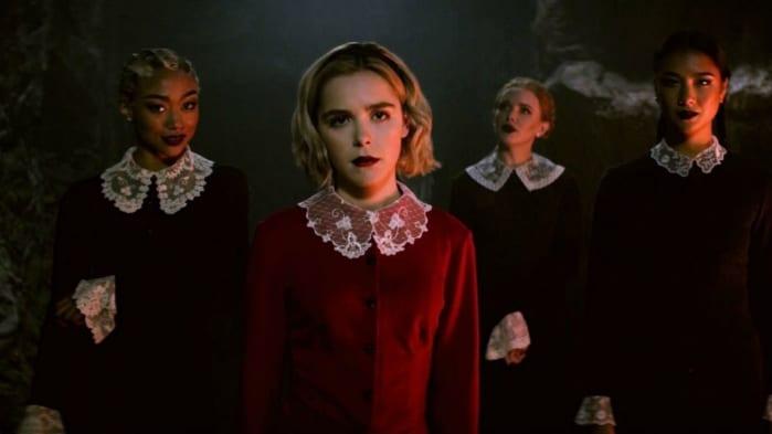 SABRINA serie tv fantasy Netflix