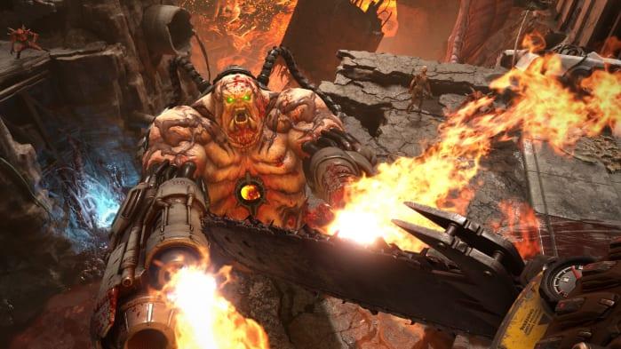 Doom Eternal Shooting