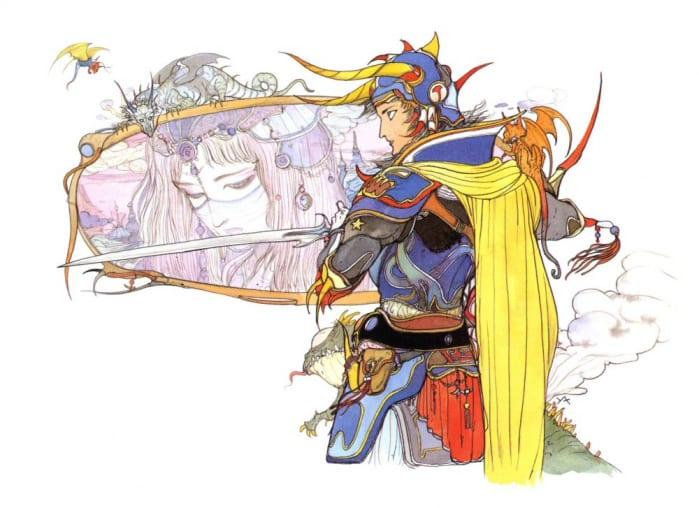 Final Fantasy I Amano