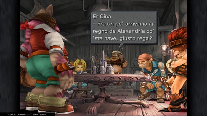Final Fantasy IX - er cina