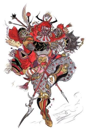 Final Fantasy V Amano - Gilgamesh