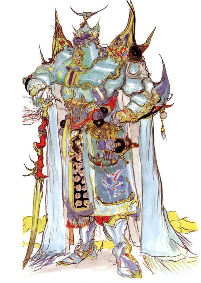 Final Fantasy V Amano