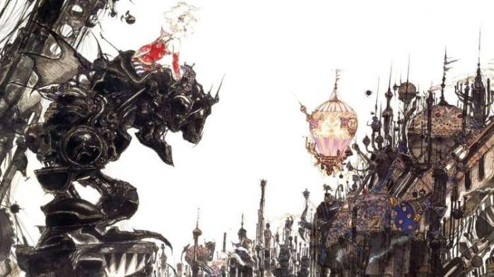 Final Fantasy VI Amano