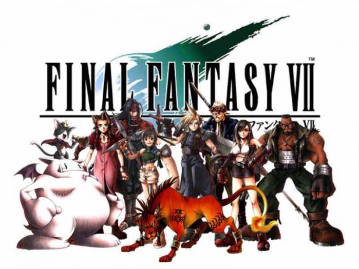 Final Fantasy VII - Logo characters