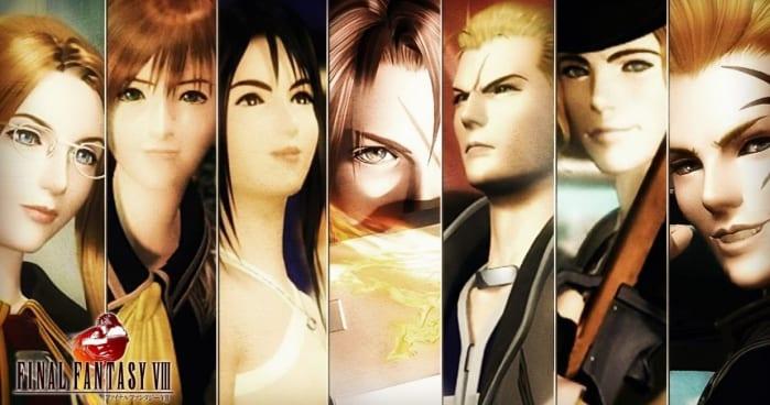 Final Fantasy VIII - characters