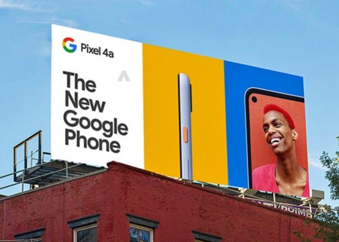 Google Pixel 4a side