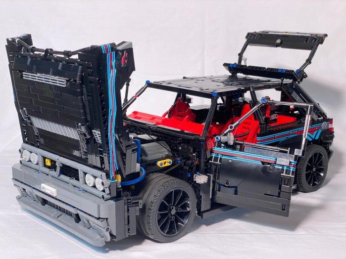 Lancia Delta Futurista