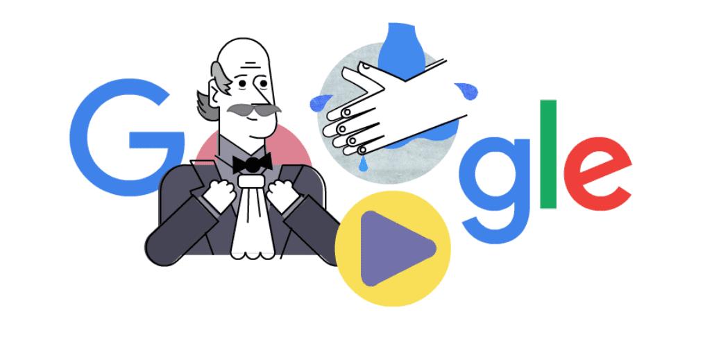 Lavarsi le mani: così Google celebra Ignaz Semmelweis