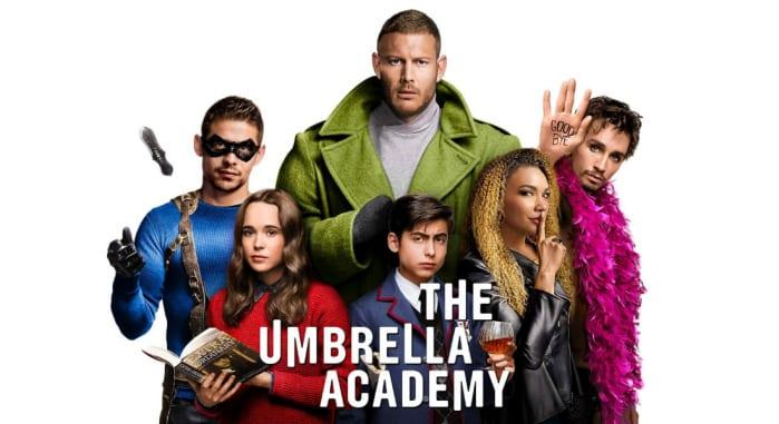 THE UMBRELLA ACADEMY serie tv fantasy Netflix