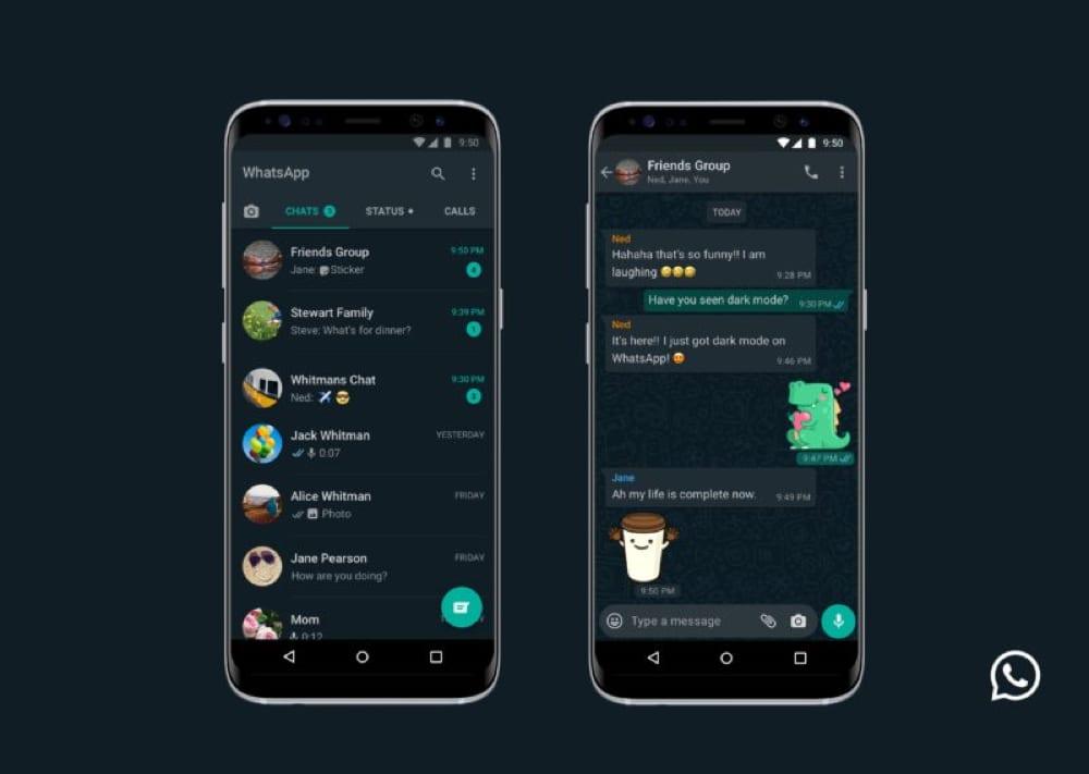 Whatsapp DarkMode
