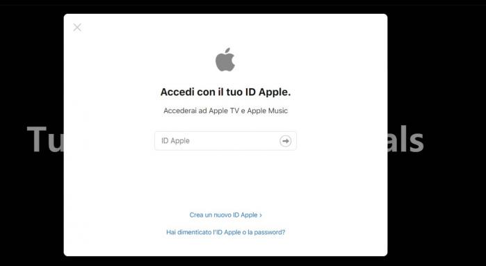 apple tv+ screen