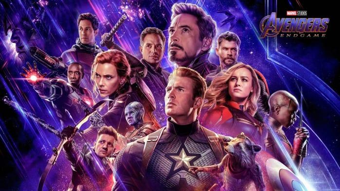 Ordine Film Marvel Avengers Endgame