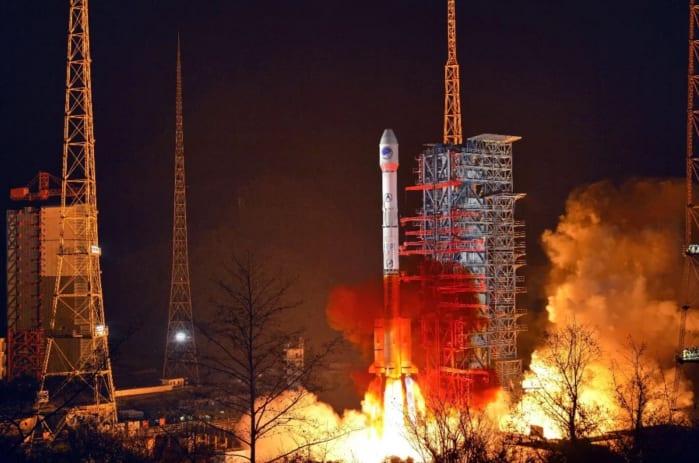 beidou lancio satellite