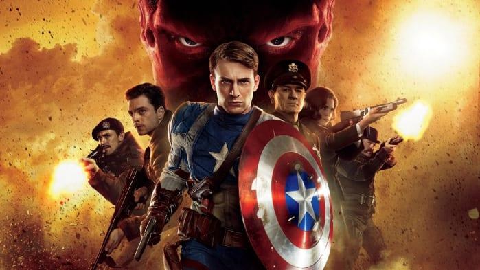 Ordine Film Marvel Captain America