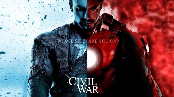 Ordine Film Marvel Civil War