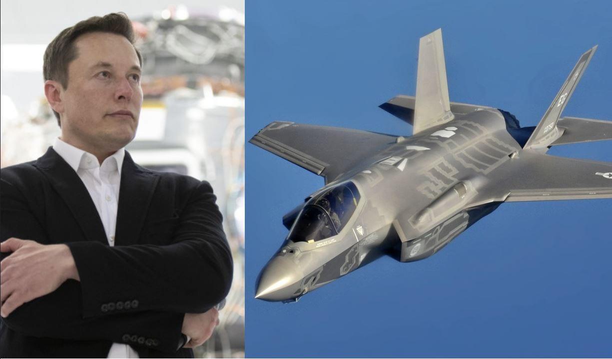 """F-35: secondo Elon Musk """"non hanno chance"""" contro un caccia senza pilota"""