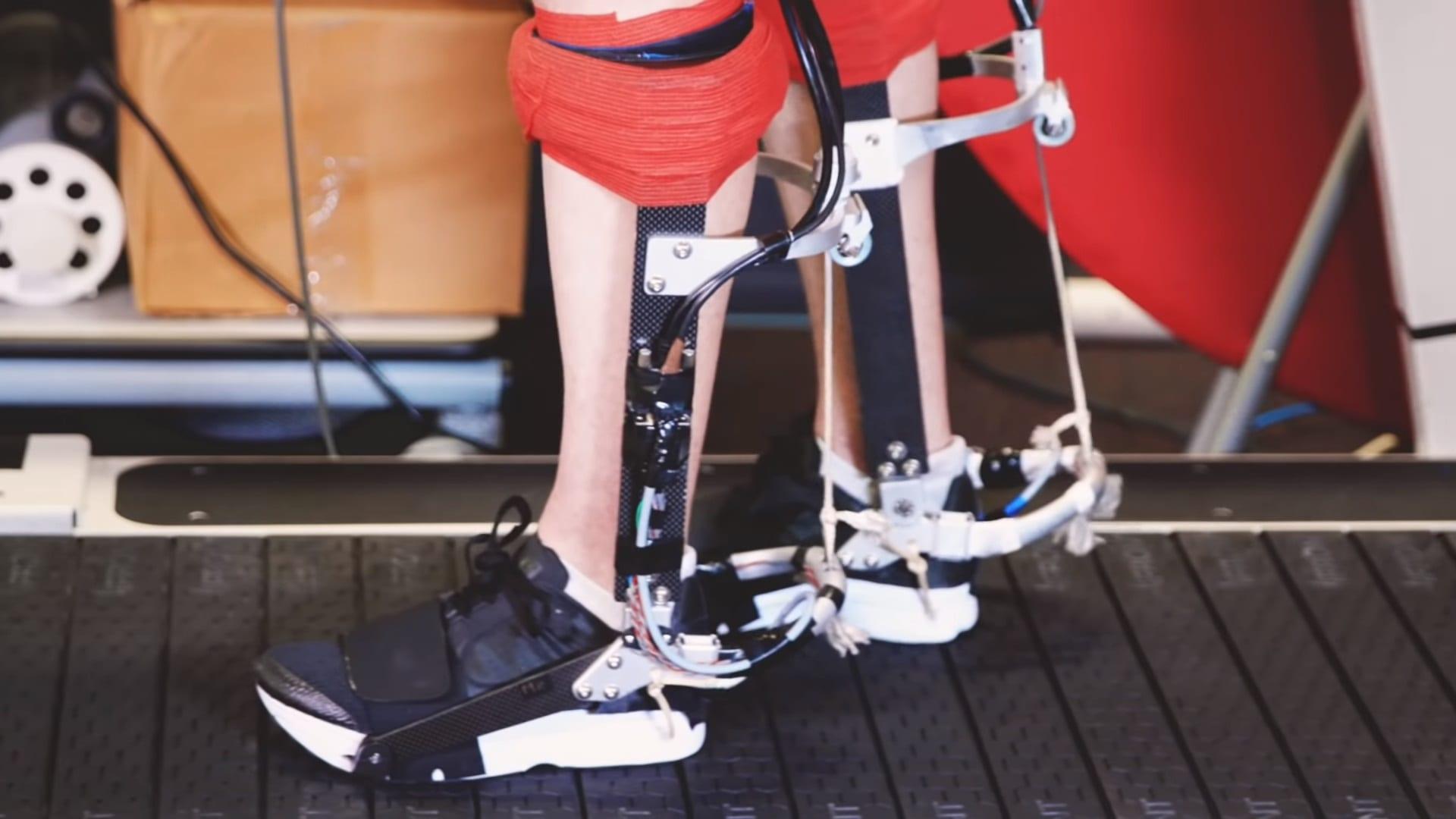 Esoscheletro da caviglia: ci farà correre il 10% più veloce e con meno fatica