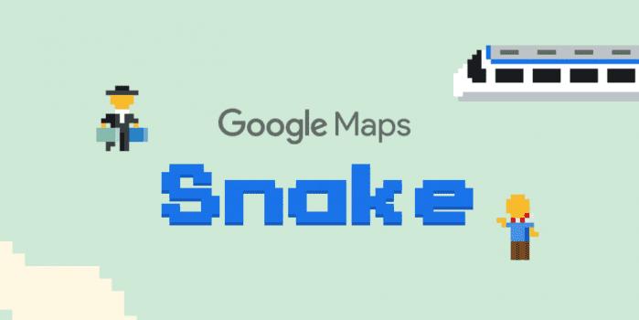 Google Pesce d'Aprile Mappe