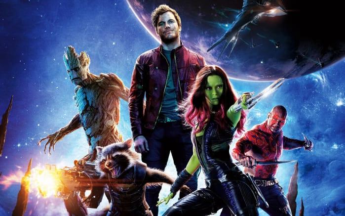 Ordine Film Marvel Guardiani della Galassia