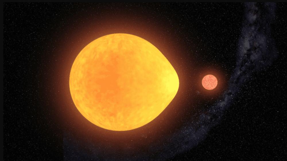 HD74423: una stella che brilla solo da un lato