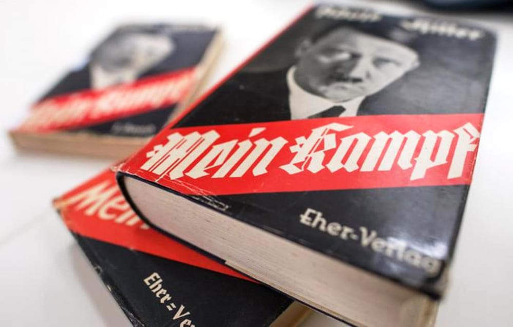 Amazon vieta la vendita del Mein Kampf, il libro di Adolf Hitler