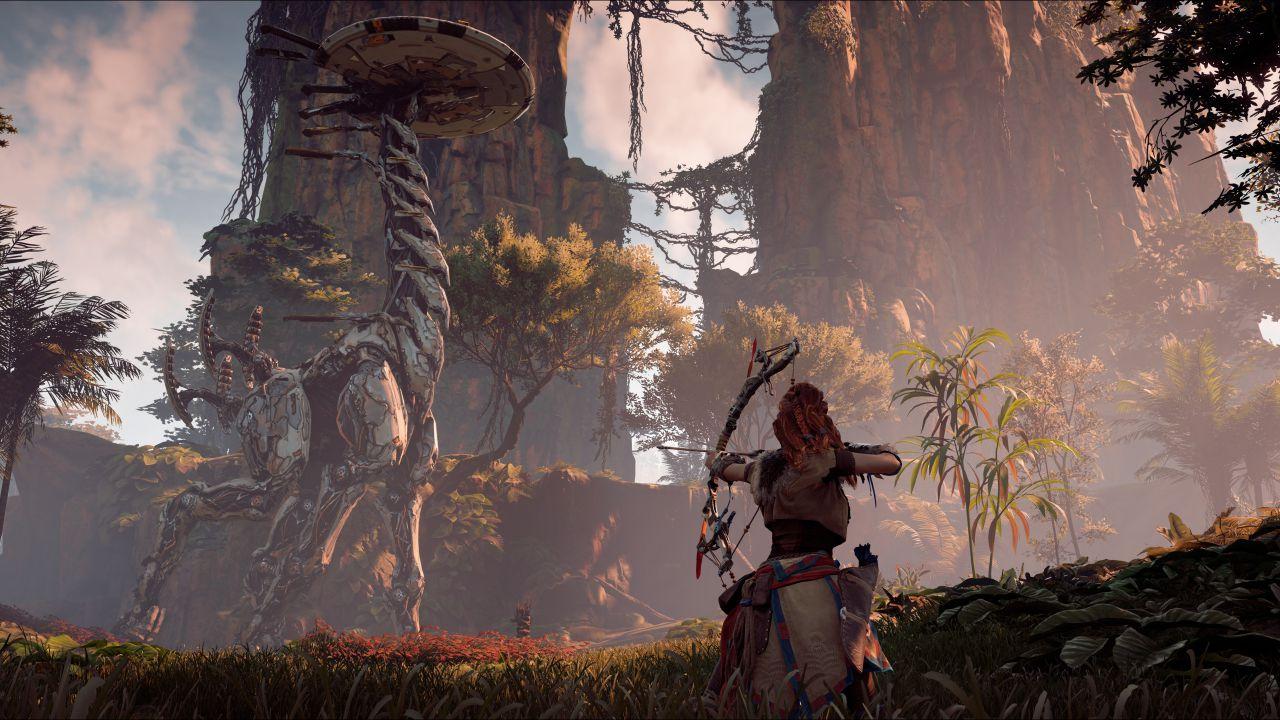 Horizon Zero Dawn su PC, pubblicato il primo screenshot in formato ultra-wide