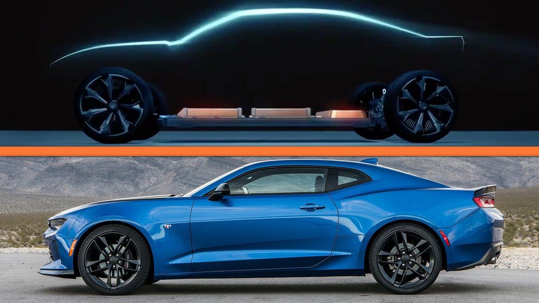 Chevrolet Camaro elettrica in arrivo? Il teaser di GM