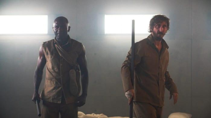 Baharat (Emilio Buale Coka) e Goreng (Iván Massagué)