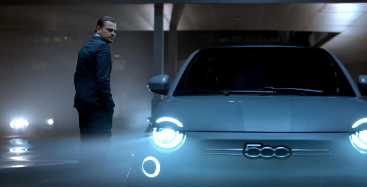 Fiat 500e: Leonardo DiCaprio è il protagonista del primo spot