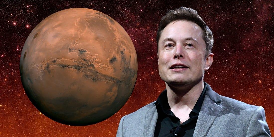 Marte secondo Elon Musk: criptovalute e democrazia diretta