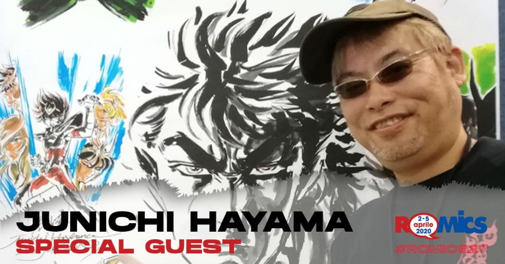Romics, Junichi Hayama Special Guest della XXVII edizione