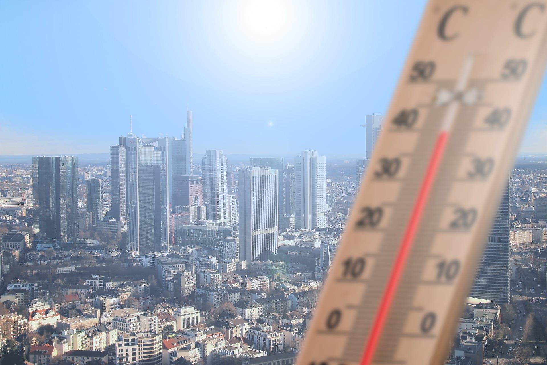 allarme stress termico in città