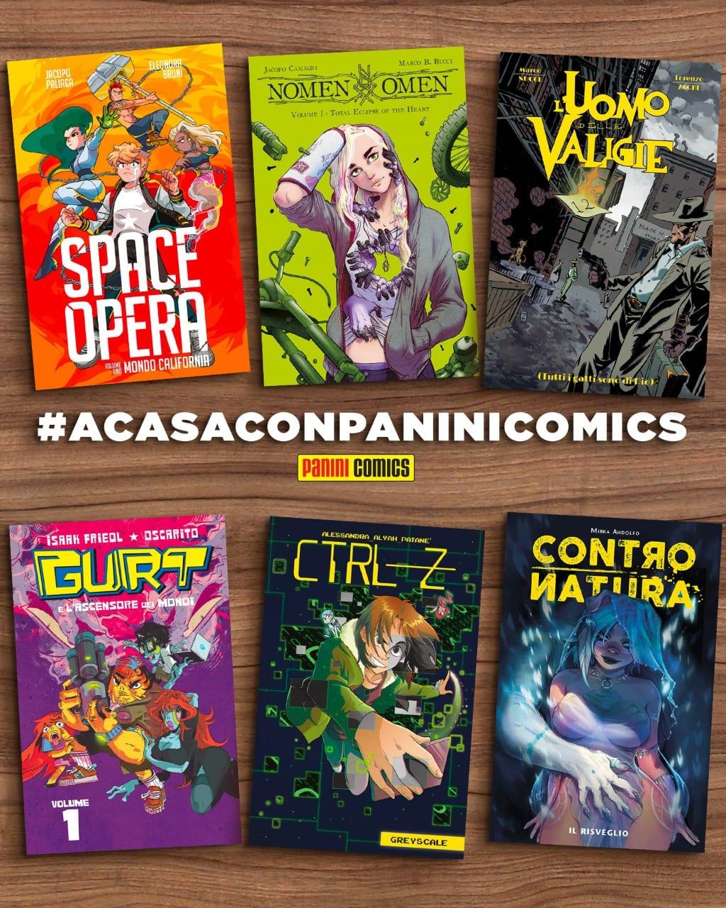 ACASACONPANINI Comics
