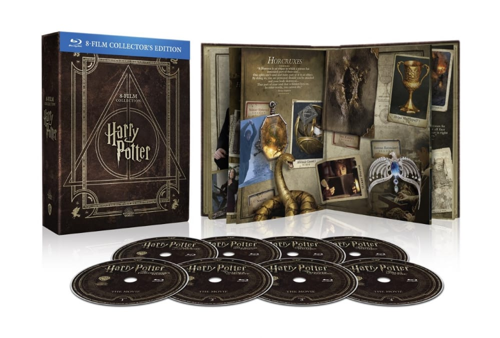 HARRY POTTER MAGICAL COLLECTION - Dal 26 Marzo in DVD e Blu-Ray tutta la saga