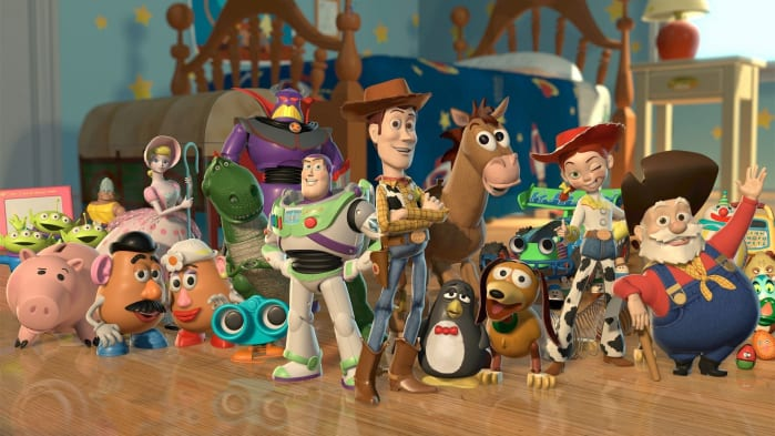 film pixar, Toy Story
