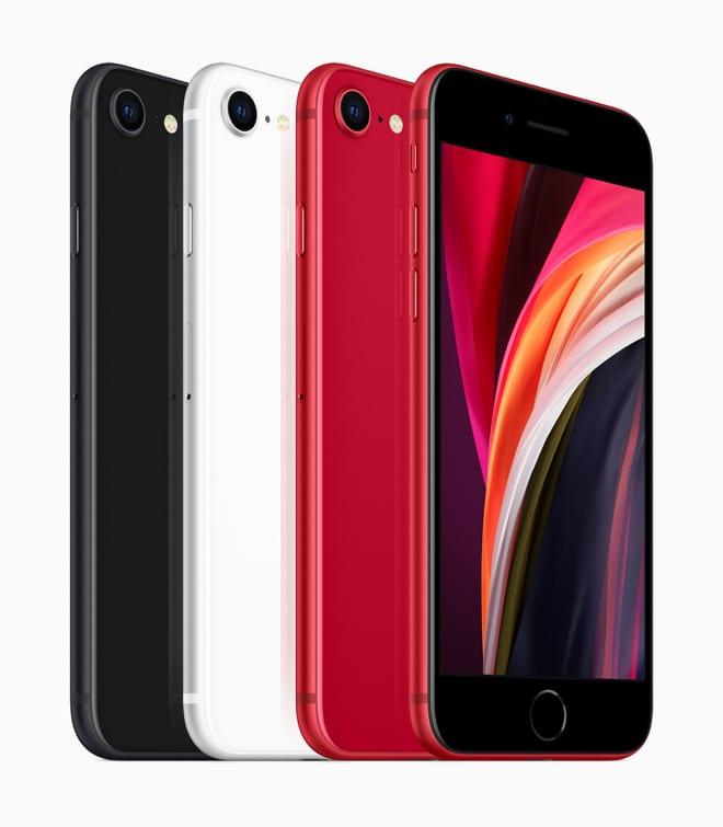 iPhone SE colori